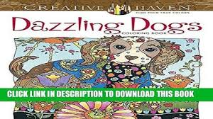 PDF Creative Haven Dazzling Dogs Coloring Book Adult Popular Collection