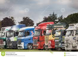100 Norfolk Truck Lineup At The Showground Editorial Stock Photo Image Of