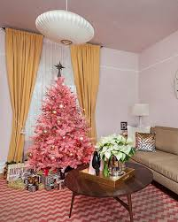 Black Slim Christmas Tree Pre Lit by Pretty In Pink Christmas Tree Treetopia