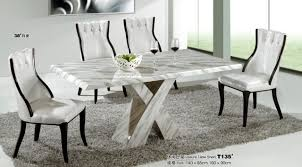 Perfect Marble Dining Room Set