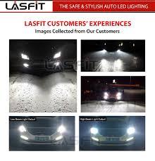 lasfit h11 h16 led headlight low beam fog light bulbs for 2007