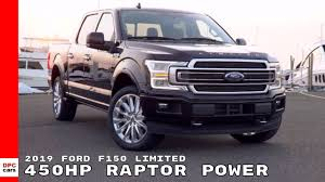 2019 Ford F150 Limited Truck - YouTube