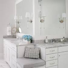 Bathroom Bench Ideas Built In Bathroom Bench Design Ideas