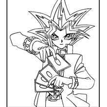 Yu Gi Oh 6 Coloring Page