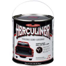 100 Do It Yourself Truck Bed Liner Amazoncom Herculiner Black 1 Gallon Automotive