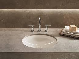 k 2874 canvas cast iron undermount sink and overflow kohler