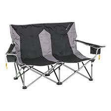 amazon com kelty low loveseat chair black sports outdoors