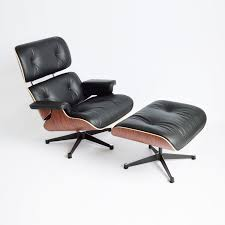 Eames Chair New Rosewood Eames Lounge Chair By Herman Miller And Vitra Fniture Black Leather Swivel Replica With Charles Dark Brown White Icf For Vintage Lounge Chair 60s Style Stool Original Model Rare 670 Ottoman 671 Cognac And Polished Sides Black Rosewood Classic Ea670