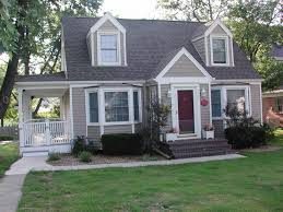 Pictures Cape Cod Style Homes by Cape Cod Style Home Glenview Il In Vinyl Siding Traditional