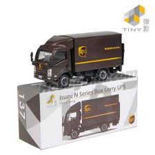 100 Ups Truck Toy Tiny City Diecast Model Car 136 Isuzu NSeries UPS HobbyDigicom