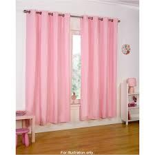 pale pink eyelet curtains