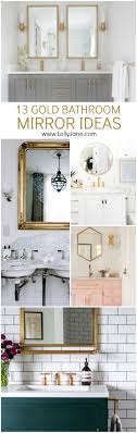 13 Gold Bathroom Mirror Ideas For Your New Bathroom Remodel Bathroom Mirrors Ideas Latest Mirror For A Small How To Frame A Home Design Inspiration 47 Fascating Dcor Trend4homy The Cheapest Resource For Master Large Makeover Elegant 37 Greatest Vanity And 5 Double Contemporist Fill Whole Wall Vanities Best Getlickd Hgtv 38 Reflect Your Style Freshome
