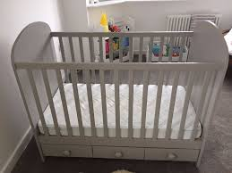 Ikea Kritter Bed by Lovely Light Grey Baby Cot Bed Ikea Newborn To 3 Years In
