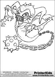 Skylander Coloring Sheet Skylanders Giants Crusher Page H