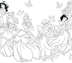 Disney Princess Coloring Pages Rapunzel To Print Page Sheets Out Printable