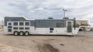 100 Transwest Truck Trailer Rv 2018 CIMARRON NORSTAR 4 HORSE GN LQ TRAILER RV Stock 5N170785