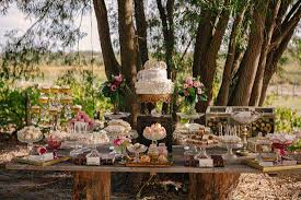 9 Awesome Outdoor Wedding Dessert Table Ideas 3
