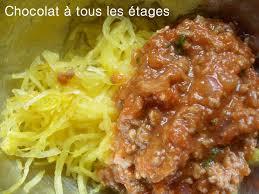cuisiner courgette spaghetti courge spaghetti à la bolognaise à ma façon cuisine avec