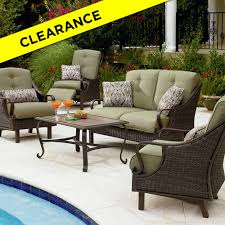 Marvelous Sears Porch Furniture Dark Brown Rectangle Contemporary