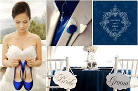 1 High Class Blue Wedding Theme 14