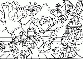 Dibujo De Koala En El Zoológico Para Colorear Dibujos Para