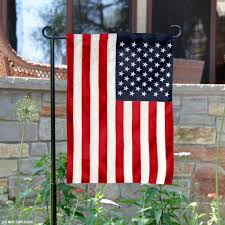 American Flags and Pennants US Embroidered Garden Flag