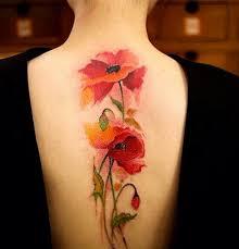 Amazing watercolor flower tattoo Tattoos Pinterest