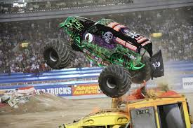 Monster Jam Trucks, Info, And History - Home Lifted Trucks Jump One Another In Ultimate Muddin Entrance The Lucas Till On Befriending A Monster Collider Jam Info And History Home 2000 Series Hot Wheels Wiki Fandom Powered By Wikia Just A Car Guy Grave Diggers Freestyle At San Diego Maxd Maximum Destruction Recetemplate Gta5 Parma 110 Goldberg Truck Clodbuster Body 1724573750 Tag Archive For Madusa Kid Amazoncom Rev Tredz Scale 143 Thrasher Pinterest Coloring Pages Cool 28074 164 Diecast Factory