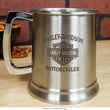 Harley Davidson Bathroom Themes by Harley Davidson Stainless Steel Stein Beer Mug Set Bar Gift Sets