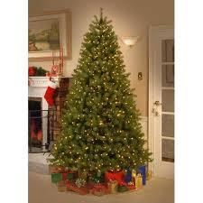 75 Pre Lit Christmas Tree Plush Design Ideas Fir 7 5 Ft Home Improvement