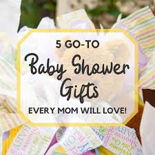 5 GoTo Baby Shower Gifts EVERY Mom Will Love