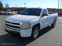 2007 Chevrolet Silverado 1500 LT Regular Cab In Summit White ...
