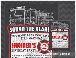 Birthday ~ Firetruck Themed Birthday Party With Free Printables How ...