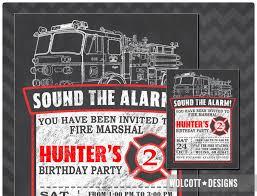 100 Fire Truck Birthday Party Invitations Engine Menshealtharts
