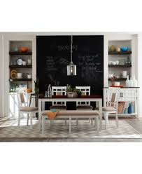 delran white dining table furniture macy s