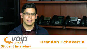 Student Interview: Brandon Echeverria | VoIP Supply - YouTube Top 10 Voip Engineer Interview Questions Youtube Best 25 Help Ideas On Pinterest Questions How And Why Evaluation Of Voip Vendor Is Necessary Ground Report Roeland Van Wezel Broadsoft Telecom Summit Job Interview And Answers Sample Tplatesmemberproco Cisco Voip Sample Resume Narllidesigncom The Best Frequently Asked Recentfusioncom Insider Feature Find Me Follow Phlebotomist Answers Customer Service Answering Daily Ic Design Engineer Resume