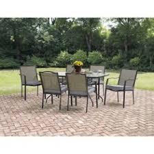Garden Treasures Patio Furniture Manufacturer by Garden Treasures Hayden Island 7 Piece Outdoor Dining Set Hayden