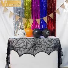 Halloween Fireplace Mantel Scarf by Aliexpress Com Buy Halloween Party Supplies Fireplace Mantle