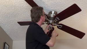 Ac 552 Ceiling Fan Wiring by How To Remove A Ceiling Fan Direct Connect Youtube