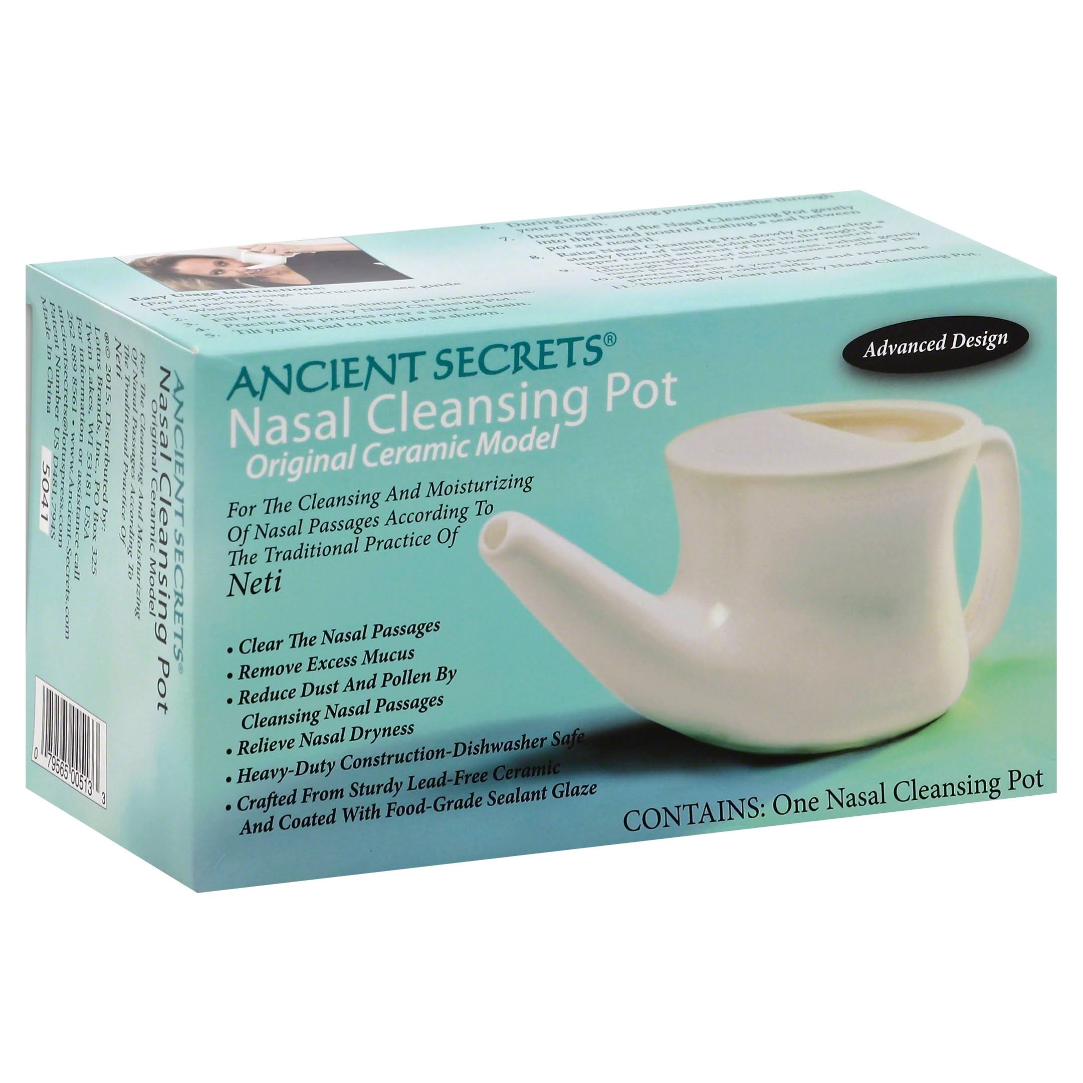 Ancient Secrets Nasal Cleansing Pot