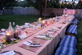 Katie Brown | Birthday Party Decorating Backyards Awesome Decorating Backyard Party Wedding Decoration Ideas Photo With Stunning Domestic Fashionista Al Fresco Birthday Sweet 16 Outdoor Parties Images About Paper Lanterns Also Simple Garden Rainbow Take 10 Tricia Indoor Carnival Theme Home Decor Kid 39s Luau Movie Night Party Ideas Hollywood Pinterest Design Deck Kitchen Architects Deck Decorations For Anniversary