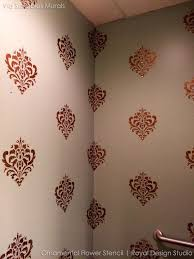Bold Design Stencil Designs For Walls Also Vine Stencils DIY Wall Decor Reusable Modern India Vintage Uk
