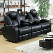 flexsteel power reclining furniture electric leather recliner sofa