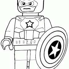Draw Background Lego Avengers Coloring Pages In Marvel Backgrounds