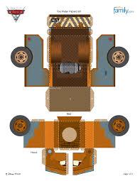 Resultado De Imagen Para Papercraft Disney Cars Pixar Imprimir