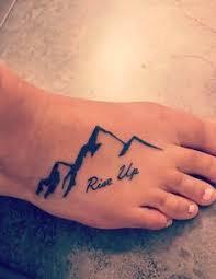Mountain Foot Tattoo Riseup