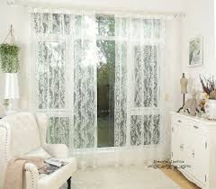 White Sheer Voile Curtains by Curtain White Tulle Curtain For Living Room Home Sheer Voile Thin