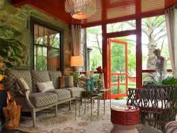 Screened Porch Decorating Ideas Pictures by From Wicker Nightmare To Colorful Outdoor Space Deborah Bettcher