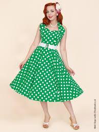 polka dot circle dresses 1950s dresses and clothing