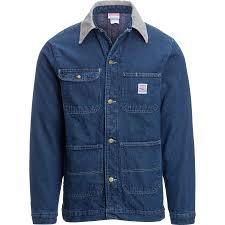 Pointer Brand Blue Denim Barn Coat Men s